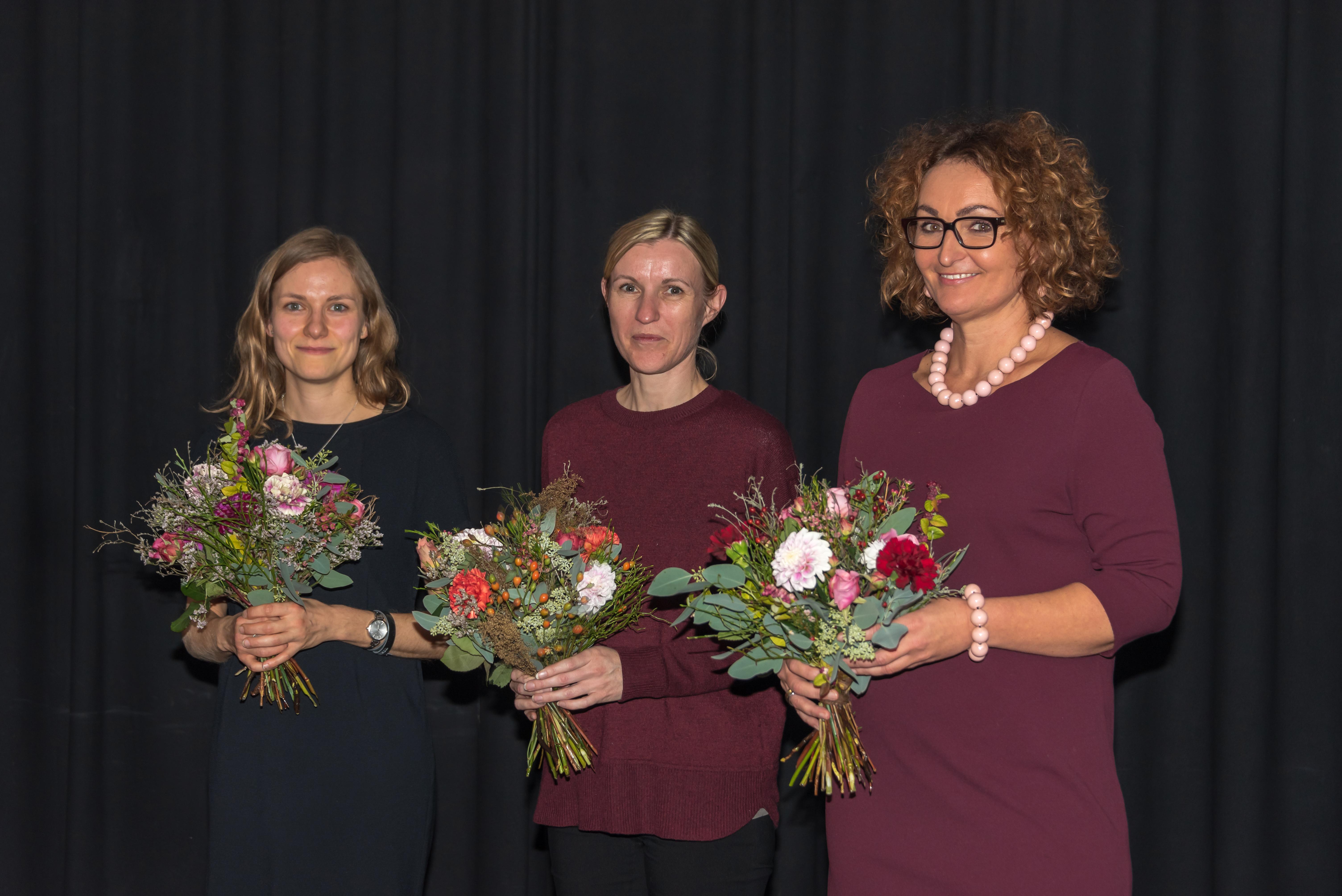Die neuen Fachfrauen im Vorstand